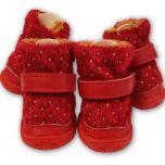 Tossut Koiralle Red Snow Star Boots | Lämpimät, Pehmoiset Suojatossut Koiralle ja Kissalle