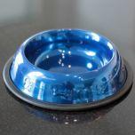 Ruokakuppi Metallic Blue 22cm