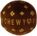 Koiran Lelu | Pehmolelu Chewy Vuiton Ball | Koiran tai kissan ihanan upea pallolelu