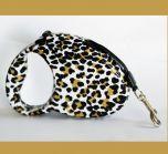 Koiran tai kissan tyylikäs kelatalutin, Leopardi-talutin ruskea-musta, DiivaDog