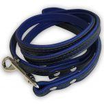 Koiran Talutin Blue & Black | Kissan Talutin | Kevyt, Taipuisa Talutushihna
