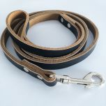 Koiran Talutina Musta-Haljas | Talutushihna Koiralle | Hihnan pituus 1,2m