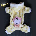 Koiran Vaatteet, Pyjama - Oloasu koiralle, pehmoinen haalari