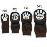 Koiran Sukka 2XL-5XL, Jarrusukat Isommalle Koiralle, Ison Koiran Liukuestesukat Brown&Honey , DiivaDog