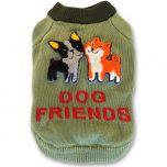 Puuvillaneule Dog Friends pikkukaverille DiivaDog.fi