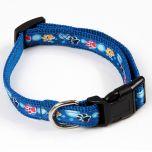 Koiran ja Kissan sininen kaulapanta Color Paws,