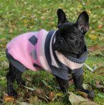 Koiran Neulepusero Pinkki Salmiakki