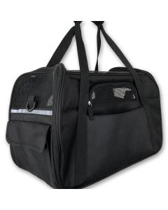 Kantolaukku Basic Black Puppy Bag | DiivaDog.fi
