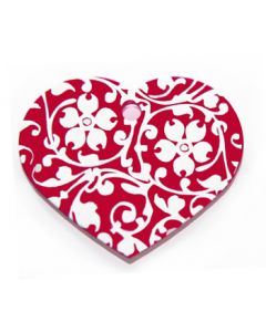 Nimilaatta Floral Heart Red