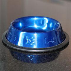 Ruokakuppi Metallic Blue 16cm uusi