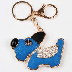Charm Avaimenperä Koru Sininen Koira
