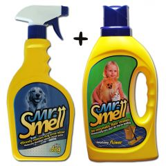 Koiraperheelle! Lattianpesuaine Flower + Suihke Tarjous | Bioentsyymi-tuotteet