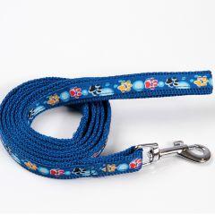 Koiran ja Kissan sininen talutushihna Color Paws, DiivaDog