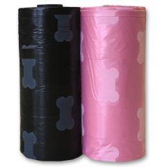 Poop Bags Pink or Black | DiivaDog.fi