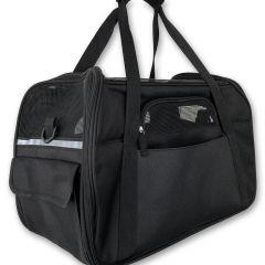 Kantolaukku Basic Black Puppy Bag | DiivaDog.fi