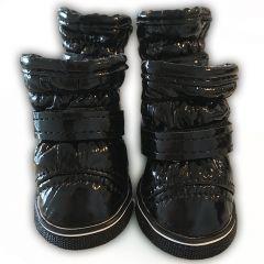 Tossut Pienelle Koiralle Boots New Black | Kosteuttahylkivät, Pehmeät Karvavuori-Suojatossut