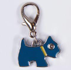 Kevyt koirankoru Charm Mini Blue Terrier koiran kaulapantaan