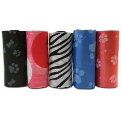 Koiran Hygienia Kakkapussit | Tyylikkäät ReissuPussit | Paketissa 5 kakkapussirullaa