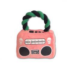 Koiran Lelu | Pehmolelu koiralle | Pink Pirate Radio | Mukana Kannettava Narulelu | Normaali Vinkulelun Äänentoisto
