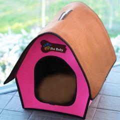 Koiran Peti | Kissan Peti | Villa Pet Pink Swiss Cottage| Oma pieni talo koiralle tai kissalle | Koiran Mökki | Kokoontaittuva