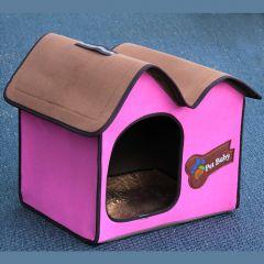 Koiranpeti Villa Dog Pink Avantgarde, oma pieni talo koiralle tai kissalle, DiivaDog