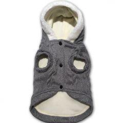 Koiran Huppari Love Gray Fleece & Knit | Pehmohuppari, Nepparikiinnitys