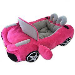 Koiran Peti Pink Tour Antibes | Hurmaava Avo-Autopeti Pikkukaverille