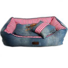 Koiran Peti |Koiratarvikkeet |Western Jeans Pink Peti Koiralle