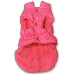 Koiran vaatteet | Koiran Toppaliivi Pink Choice | Kosteutta hylkivä pinta | Pehmeä Fleece-Vuori