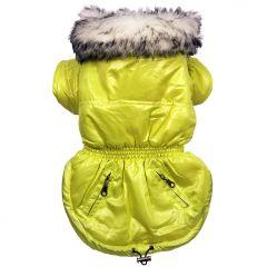 Koiran vaatteet | Koiran Toppatakki Fresh Lime Jacket