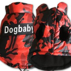 Koiran Liivi-takki Camo Red | Kosteutta Hylkivä Pinta, Fleece-vuori