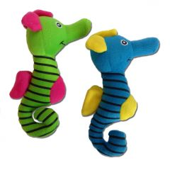 Koiran Lelu | Pehmolelut Koiralle | Merihevoset | Vinku sisällä | Kaksi Väriä Vihreä ja Sininen