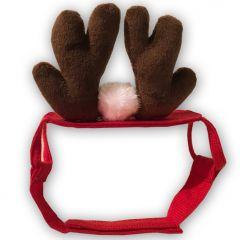 Söpöt Pienet Poronsarvet Koiralle tai Kissalle Jouluksi | Näillä hauskat joulukuvat!