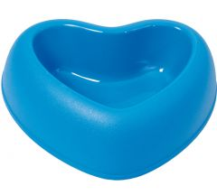 Sydämenmuotoinen Ruokakuppi Koiralle tai Kissalle, Amore Blue, DiivaDog