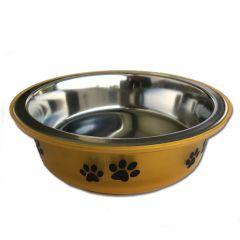 Koiran Ruokakuppi |Gold Paws |Tassukuvioinen Ruokakuppi