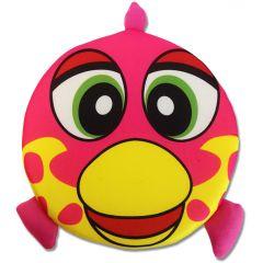 Koiran kelluva aktivointi frisbee | Happy Fish Pink