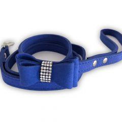 Koiran Talutin Blue Ink & Diamonds | Kissan Talutin | Ihastuttava Kevyt Talutushihna