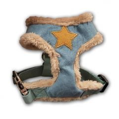 Koiran Valjaat | Fur Star Harness Blue