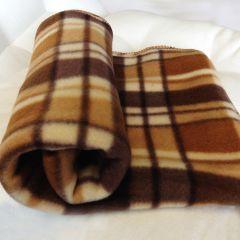 Koiran Torkkupeitto Fleeceviltti Murrberry Brown