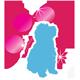 Koiran Nimilaatta | Kissan Nimilaatta | Classic Heart Pink & Silver | Hopeareunainen Nimilaatta Lemmikille | Kaiverrettuna